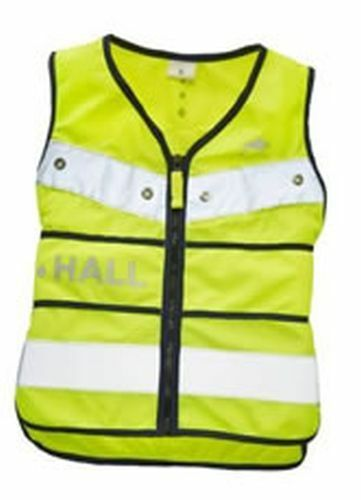 HARRY HALL HI-VIZ TABARD ADJUSTABLE JUNIOR YELLOW - SMALL - HHL1950
