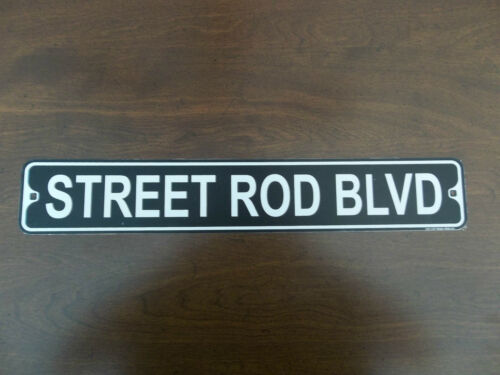 RAT COUPE SEDAN FORD STREET ROD BLVD CHEVY TRUCK ALUMINUM STREET SIGN