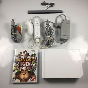 Nintendo Wii White Console RVL-001 GameCube Compatible Complete Bundle Tested
