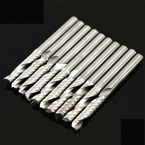 10x-1-8-034-Carbide-Flat-Nose-End-Mill-CNC-Router-Bits-Single-Flute-Spiral-17mm-Kit