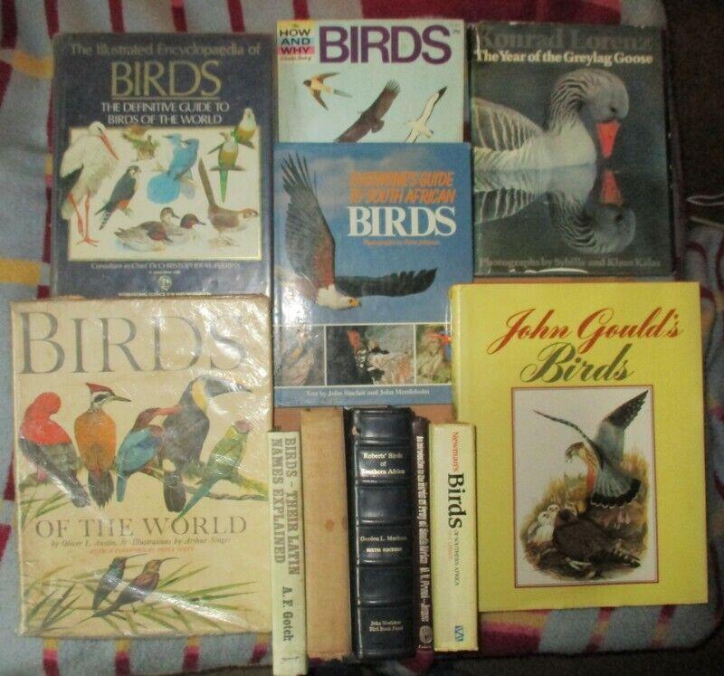 Bird books for sale