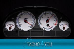 tachoscheiben f r bmw tacho e39 benzin oder diesel m5 wei. Black Bedroom Furniture Sets. Home Design Ideas