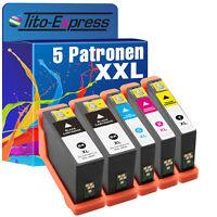 Set 5 Druckerpatronen XXL ProSerie für Dell V525W V725W 31 32 33 34