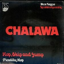 7inch CHALAWA hop,skip and jump BELGIUM RED VINYL 1978 EX