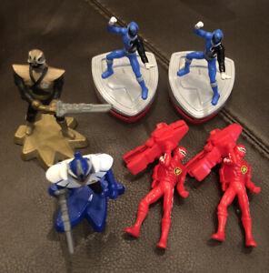Lot Of 6-McDonalds Power Rangers Figures