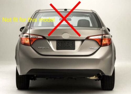 ABS Rear Roof Factory Style Spoiler Wing for 2014-2017 Toyota Corolla European