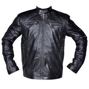 Mens-Leather-Jacket-Soft-Premium-Grade-Lamb-Leather-Stylish-Fashion-Biker-Jacket
