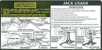 1977-78 Chevy Truck/surb 4-wheel Drive Jack Instructions