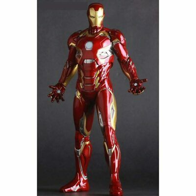 """Avengers Age of Ultron Crazy Toys Ironman Figure MK45 Toy Doll 12/"""" 30cm"""