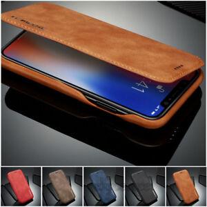 Handy-Tasche-fuer-Samsung-Samsung-Note-8-S8-S9-Plus-Flip-Cover-Case-Schutz-Huelle
