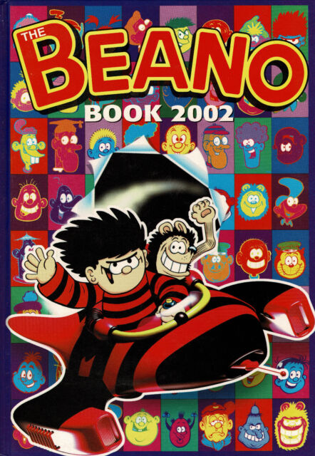 The BEANO 2002 Annual  D. C. Thomson Publication ~ Perfect **FREE P&P**