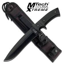 Mtech Xtreme Knives Fixed Blade MX 8090BK Full Tang  Molle Sheath