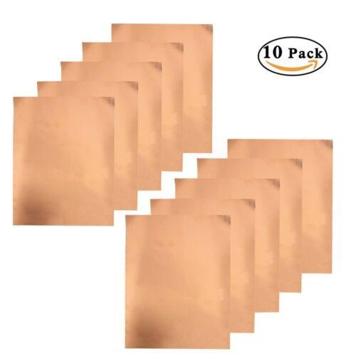 GUITAR COPPER SHIELDING FOIL TAPE 20x30cm Self-Adhesive 10 Sheet Pack