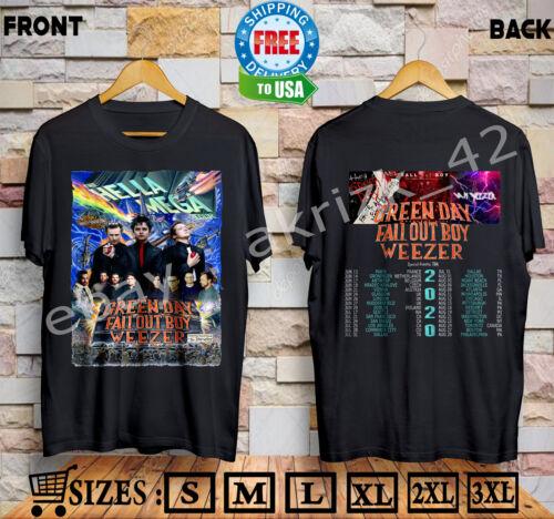 LIMITED EDITION ! The-Hella-Mega-Tour-2020-T-shirt-Sizes-S-5XL