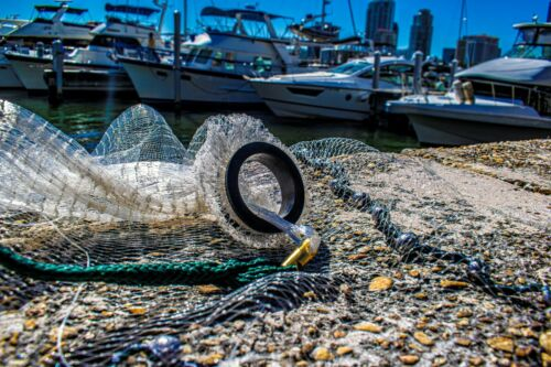 "Big Gulp 8-FT 3//8/"" Cast Net 1.5lb Lead Quality Commercial Fishing Bait Net"