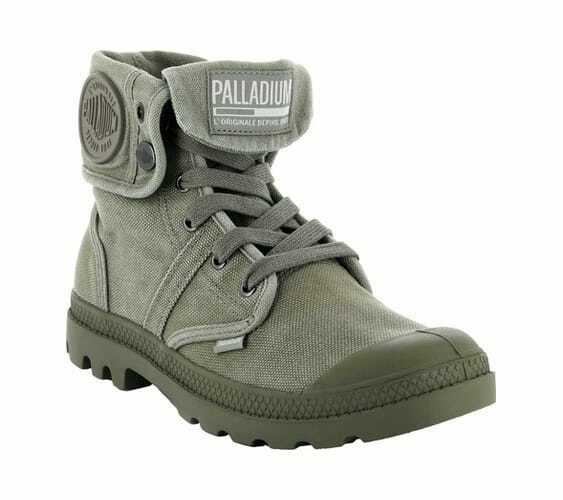 Palladium Men's Pallabrouse Baggy Vetiver Burnt Olive Sneakers