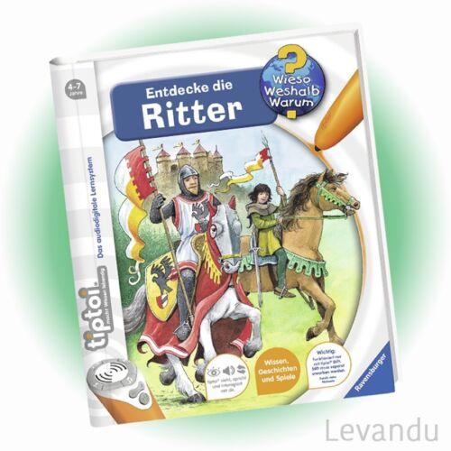 RAVENSBURGER tiptoi® Buch - Wieso Weshalb Warum? - Entdecke die Ritter - NEU