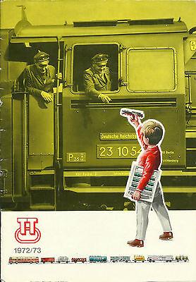 Katalog Produktpalette Tt-modellbahn 1972/73 Ddr