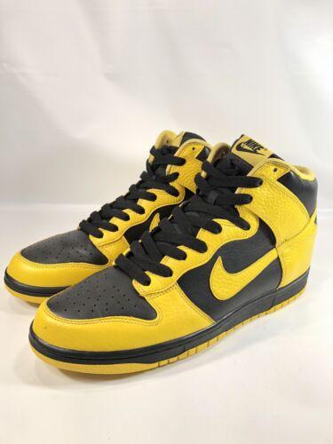 Nike Dunk High 11.5 Black Varsity 2011 Sneakers