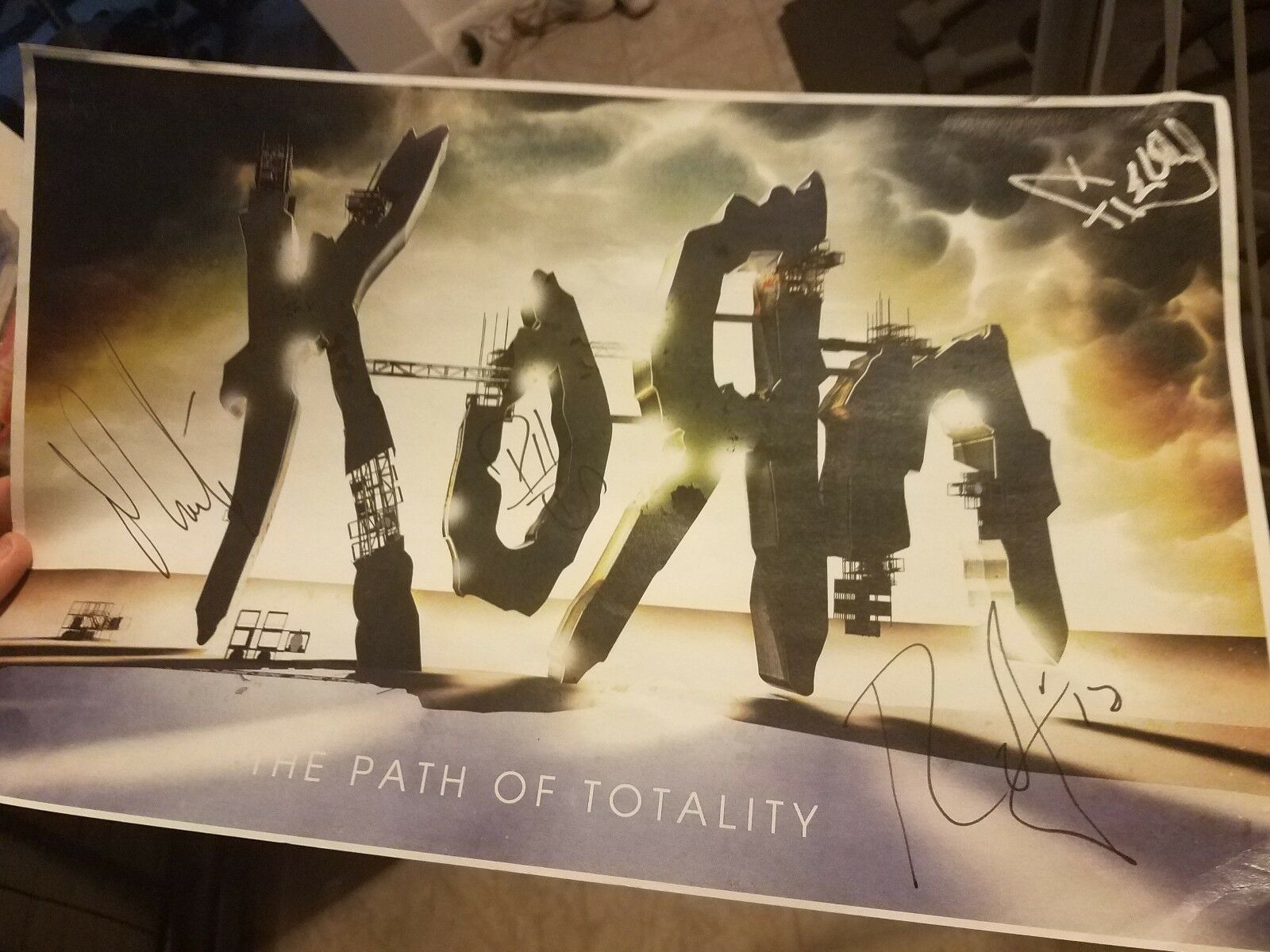 Korn The Path Of Totality Album Cover Poster Giclée