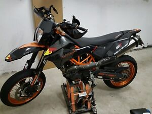 ktm 690 smc smc r enduro 08 17 carbon matt dekor. Black Bedroom Furniture Sets. Home Design Ideas