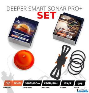 Deeper-Smart-Pro-Plus-Sonar-Nuit-Peche-Couvercle-amp-Smartphone-Fixation-Set