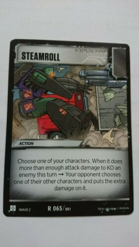 TRANSFORMERS WAVE 2 STEAMROLL R 065//081 MINT RISE OF THE COMBINERS