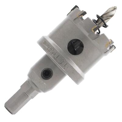 New 1 Pcs 19.5mm  HSS Tipped Metal Hole Cutter Saw Drill Bits Heavy Duty