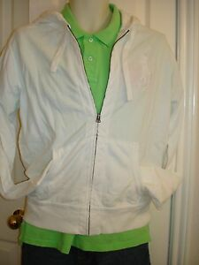 zip Hoodie Full Men's Lauren Ralph Polo Mesh Small Size Cotton xqwPTTY0X