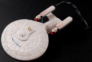 1993-Hallmark-STAR-TREK-USS-Enterprise-NCC-1701-D-Next-Generation-MAGIC-Ornament