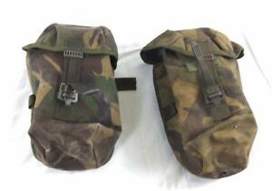 2-x-British-army-surplus-DPM-utility-canteen-IRR-webbing-pouches