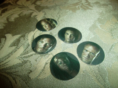 Free Shipping Pre Cut  One Inch ZOMBIE ACTORS Images
