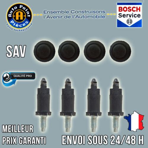 4 Vis et 4 Clips Cache Moteur HDI Peugeot 1007 206 207 306 307 308 406 407 607