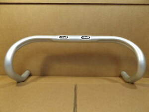 New-Old-Stock-Cinelli-034-Touch-034-Handlebars-42cm-26-0mm-w-Anatomic-Bends