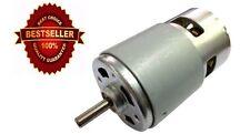 Hot DC 12V High Torque & High Speed Permanent Magnet Brushed Big DC Motor