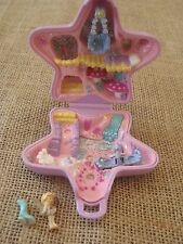 1992 Vintage Polly Pocket Bluebird Fairy Fantasy Compact Purple Complete Star R1
