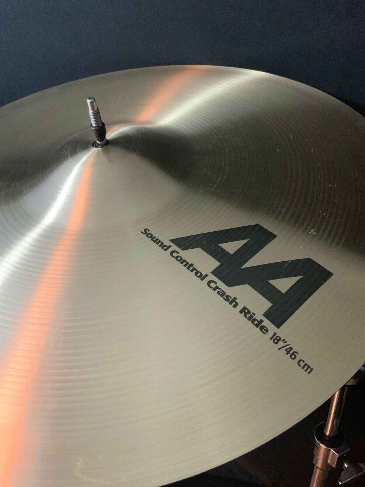 "Sabian AA 18"" Sound Control Crash Ride Cymbal"