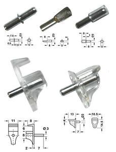 3 Mm étagère Clous Supports Pour Trous De 3mmØ Choisir Type Quantité Ikea Billy Bibliotheque-afficher Le Titre D'origine