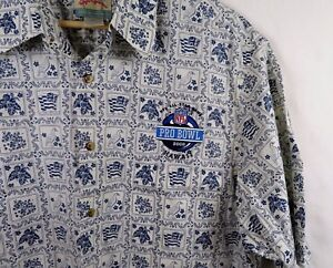 f4cc493c3 Reyn Spooner Mens Pro Bowl 2008 NFL All Star Game Hawaiian Shirt ...