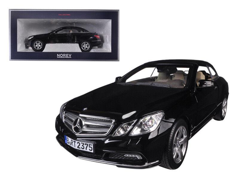 NOREV 1 18 Mercedes Benz E Classe Cabriolet Diecast Voiture Modèle Noir 183543