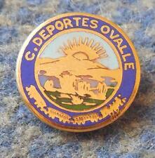 CLUB DEPORTES OVALLE CHILE FOOTBALL FUSSBALL SOCCER 1980's ENAMEL PIN BADGE