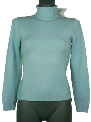 Shirt Wool Giorgio 38 Nuovo Grati Water Stretch Donna Green Virgin Original Tg 07w5S7q6