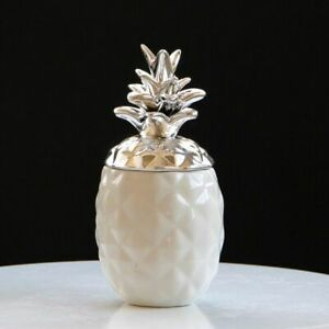 Ceramic-Material-Pineapple-Pattern-Jewelry-Coins-Storage-Box-Figurine-Decoration