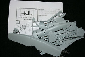 Heller-Curtiss-SBC-4-Helldiver-Cleveland-I-1-72-scale-model-aircraft-kit-285