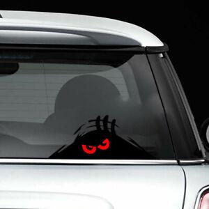 aufkleber-stossstange-auto-vinyl-monster-gucken-rote-augen-auto-aufkleber