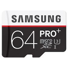 SAMSUNG CLASS10 microSDXC PRO PLUS 64GB micro SD micro SDXC 4K Card 95MB/s