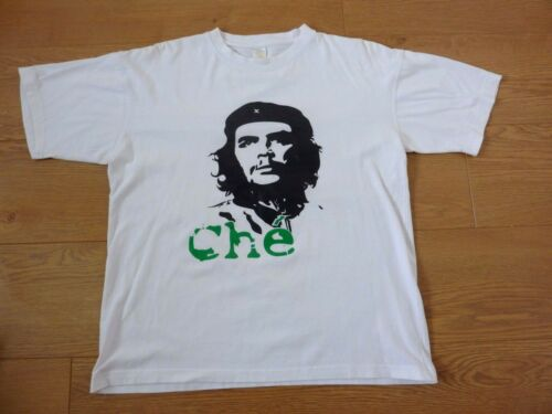 White t shirt Small to 3XLarge Bob Dylan 60/'s Che Guevara Style shirt