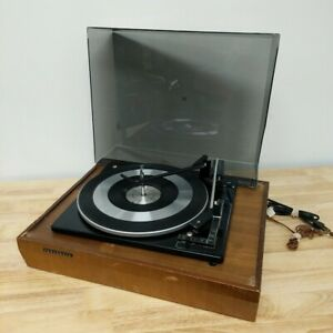 Vintage Panasonic RD 7703 Automatic Turntable Record Player & Dust Cover *Parts*