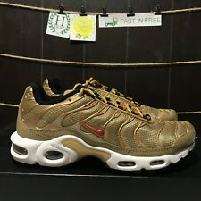 item 3 Nike Air Max Plus QS Metallic Gold University Red 903827 700 Size 7 -Nike  Air Max Plus QS Metallic Gold University Red 903827 700 Size 7 7bb670a57
