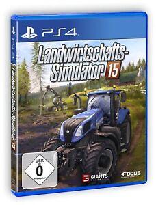 Landwirtschafts-Simulator 15       PS4    Playstation 4      !!!!! NEU+OVP !!!!!